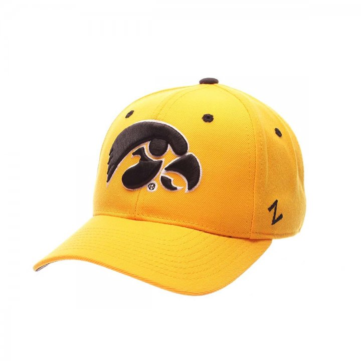 Iowa Hawkeyes Zephyr NCAA Dhs Fitted Hat (Gold)