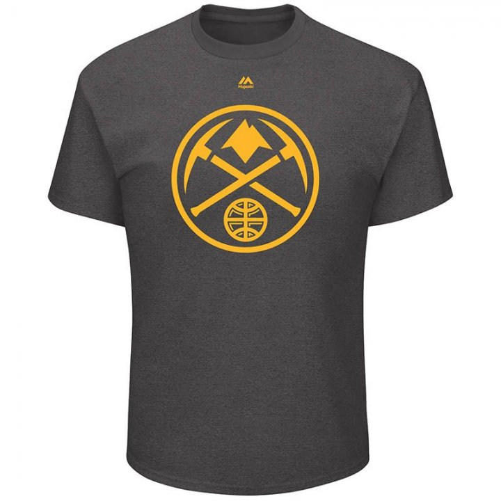 Denver Nuggets NBA Relentless Preparation Tee (Charcoal)