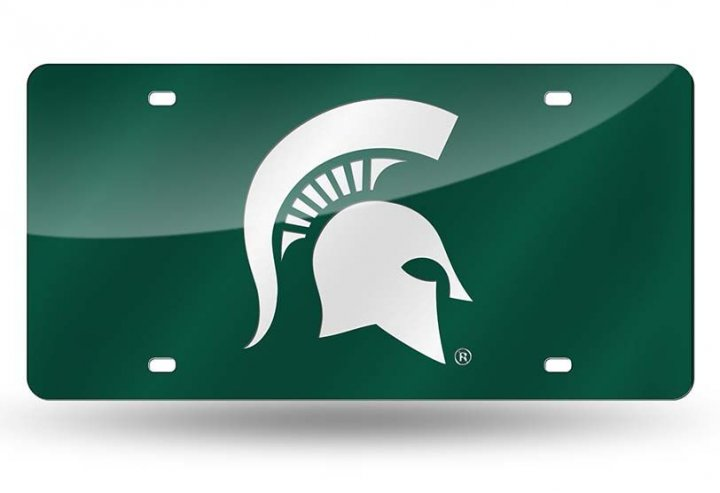 Michigan State Spartans NCAA Laser Cut Tag