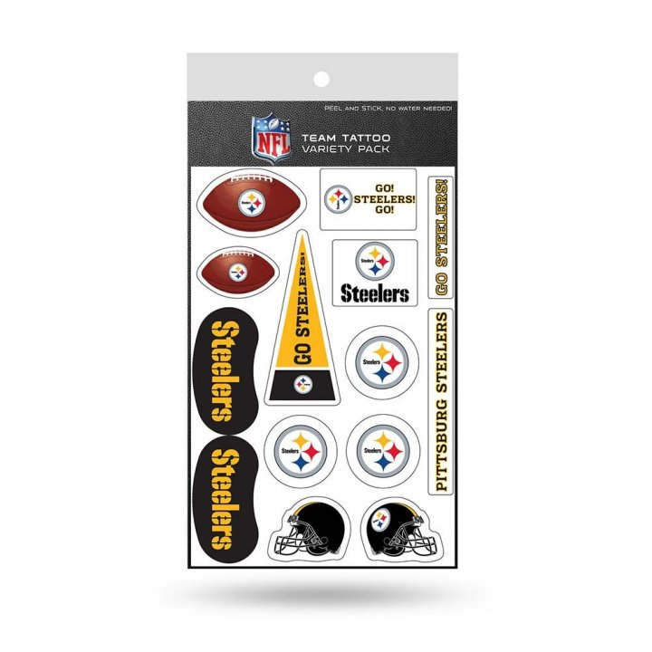 Pittsburgh Steelers Tattoo Variety Pack