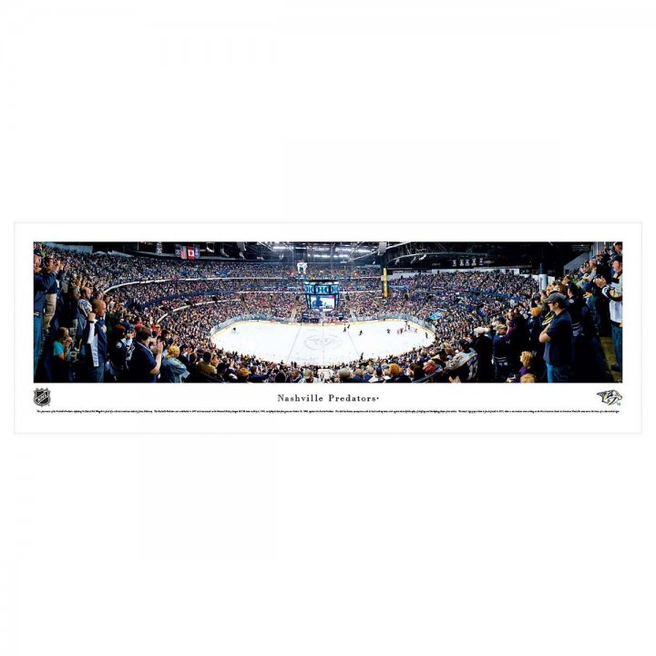 Nashville Predators Unframed Panorama