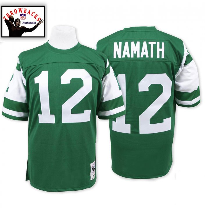 Joe Namath 1968 Authentic #12 Jersey New York Jets