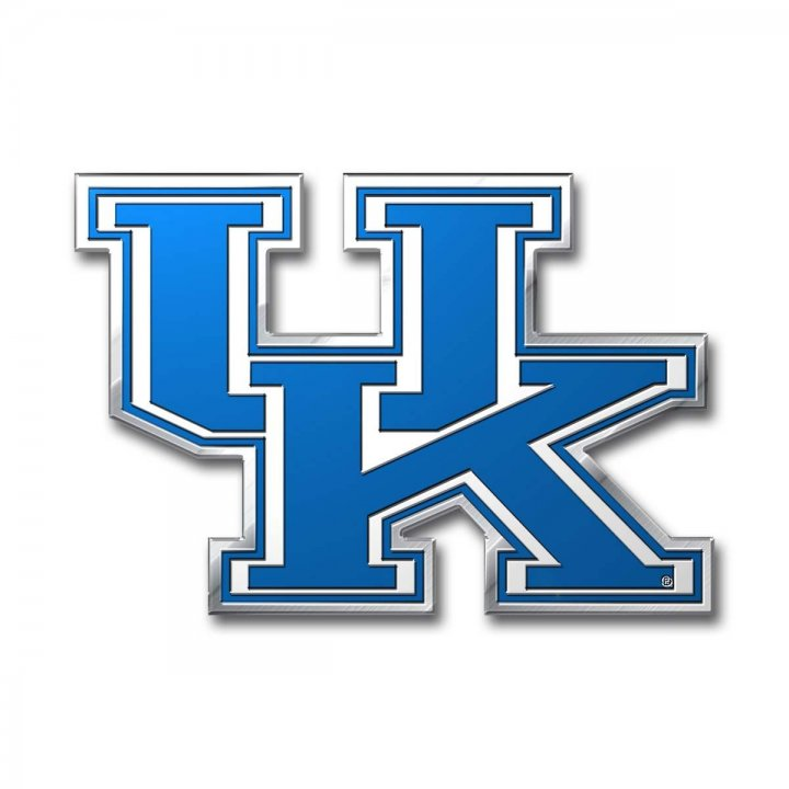 Kentucky Wildcats Color Emblem