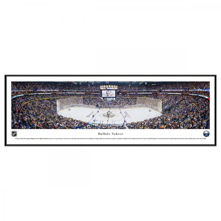 Buffalo Sabres Center Ice Standard Frame