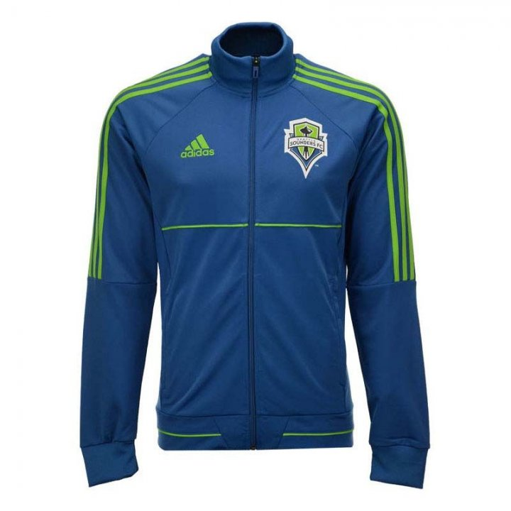 Seattle Sounders MLS Anthem Full Zip Jacket (Blue)