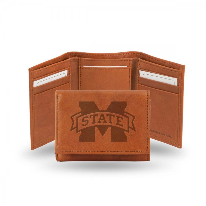 Mississippi State Bulldogs Tri-Fold Wallet