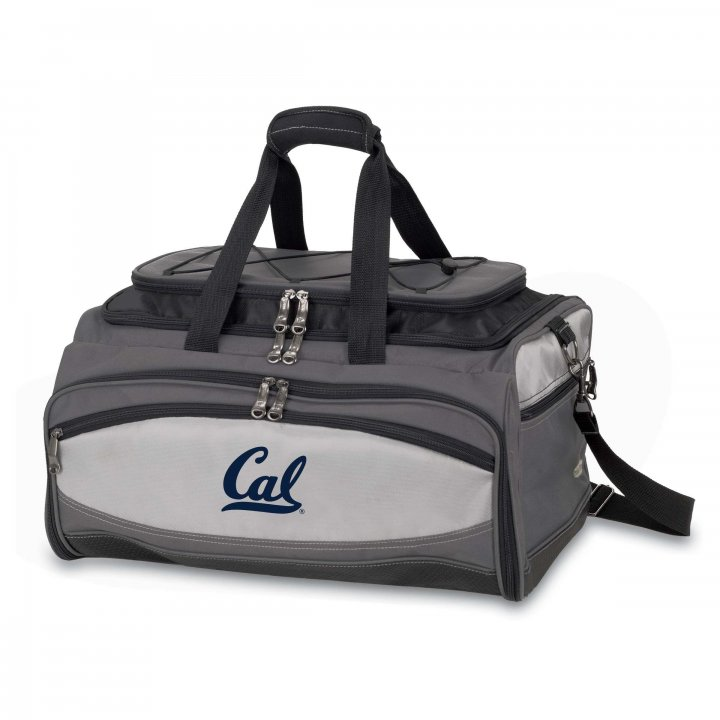 CAL Golden Bears Buccaneer Portable BBQ and Cooler Tote (Black)