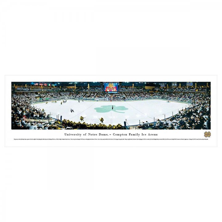 Notre Dame Fighting Irish Unframed Panorama