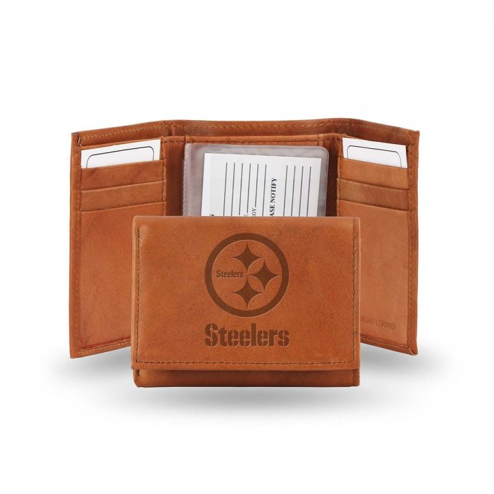 Pittsburgh Steelers Tri-Fold Wallet