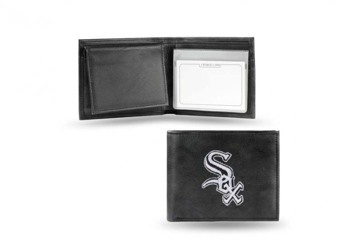 Chicago White Sox MLB Leather Wallet (Black)