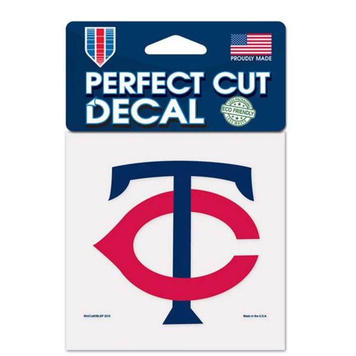 Minnesota Twins 4x4 Color Die Cut Decal