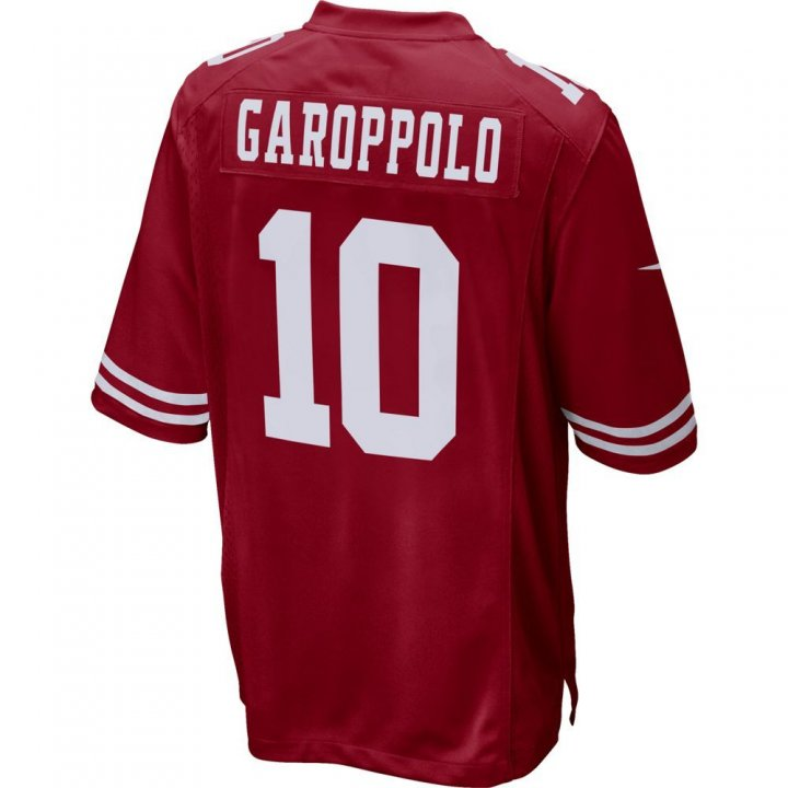 San Francisco 49ers NFL Jimmy Garoppolo Game Jersey (Red)