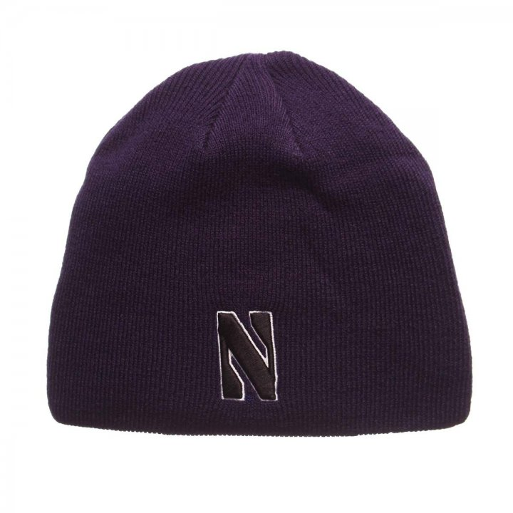 Northwestern Wildcats Edge Knit Beanie (Purple)