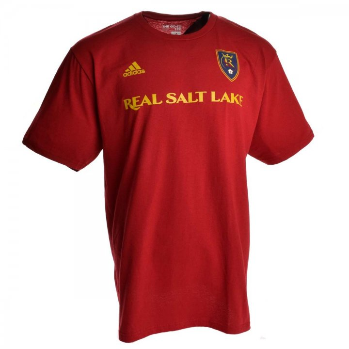 Real Salt Lake MLS Joao Plata Go To Player Name And Number Tee (Red)