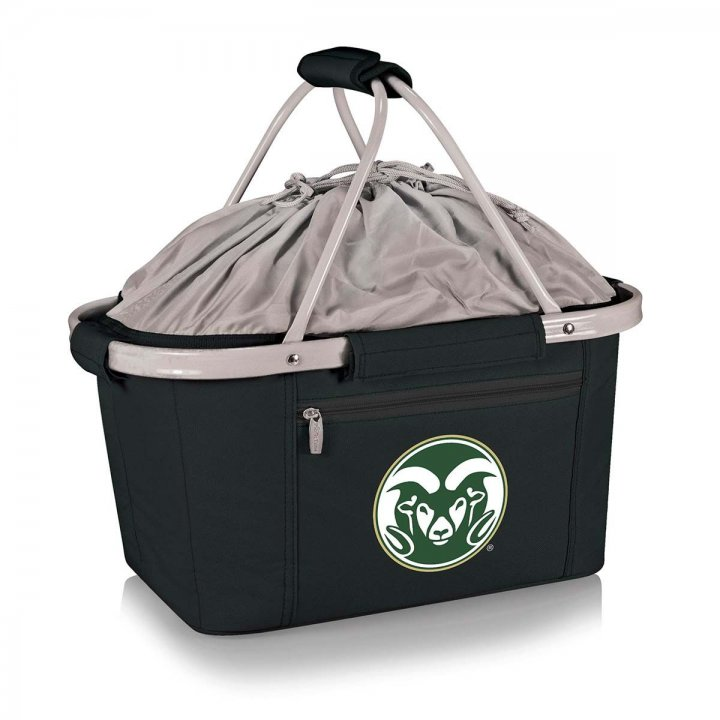 Colorado State Rams Metro Basket Collapsible Tote (Black)