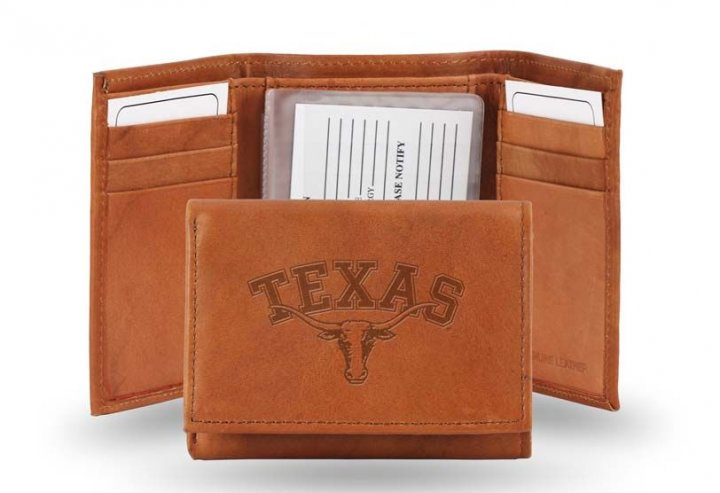 Texas Longhorns Tri-Fold Wallet