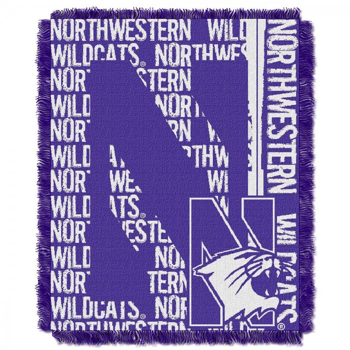 Northwestern Wildcats Double Play Throw