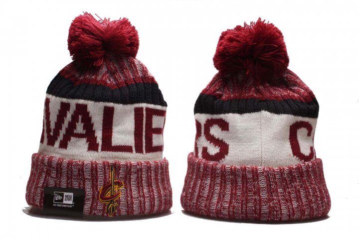 New Era NBA Sport Knit Beanie Hat Winter Cap(Cleveland Cavaliers 2)