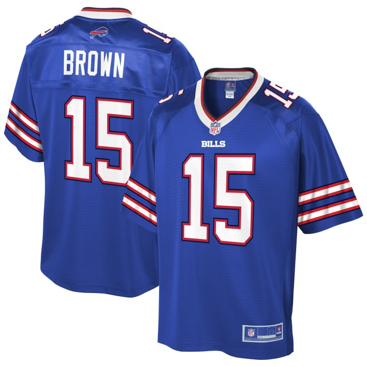 Outerstuff Youth Kids 15 John Brown Buffalo Bills Jersey Royal