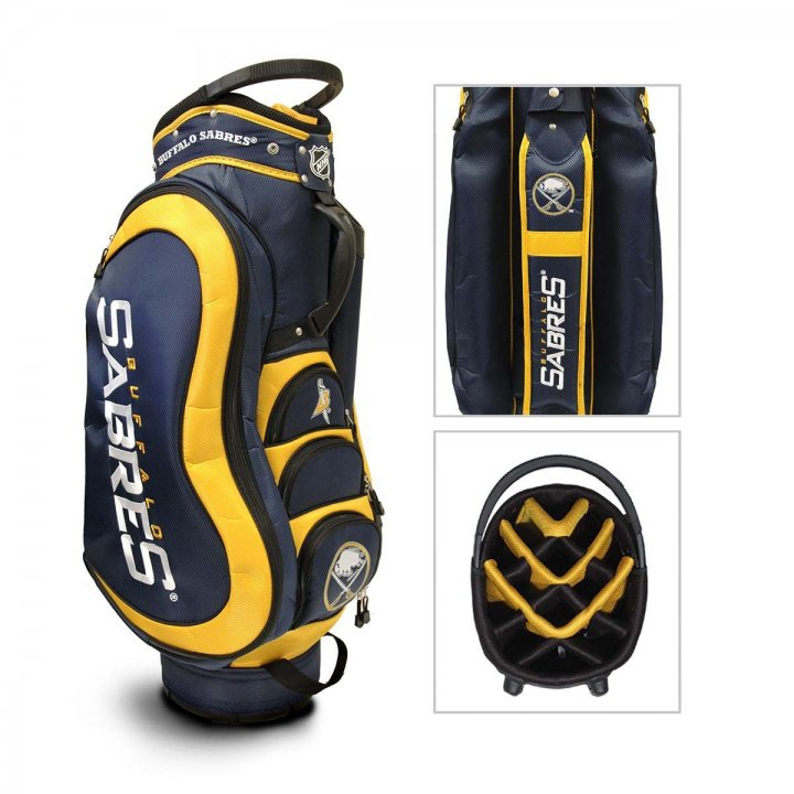Buffalo Sabres Medalist Cart Bag