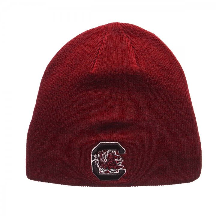 South Carolina Gamecocks Edge Knit Beanie (Red)
