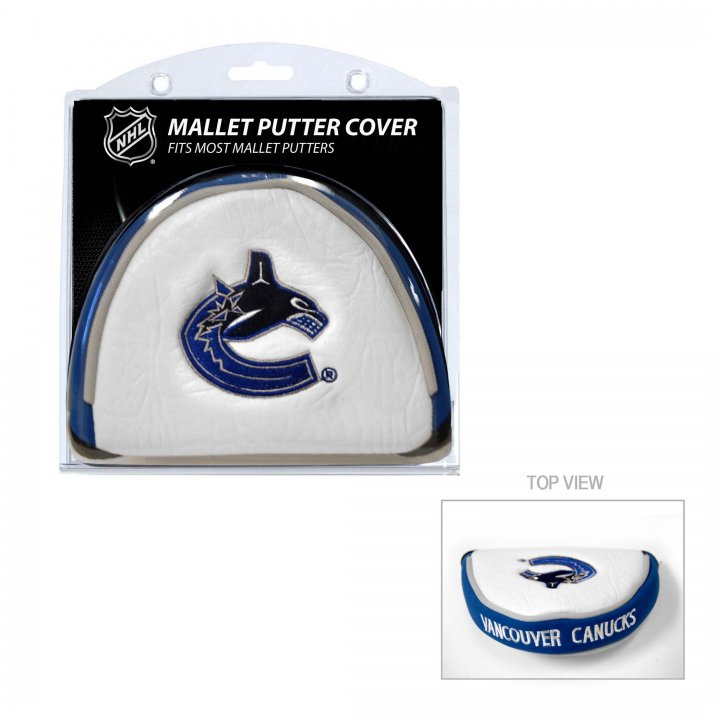 Vancouver Canucks Mallet Putter Cover