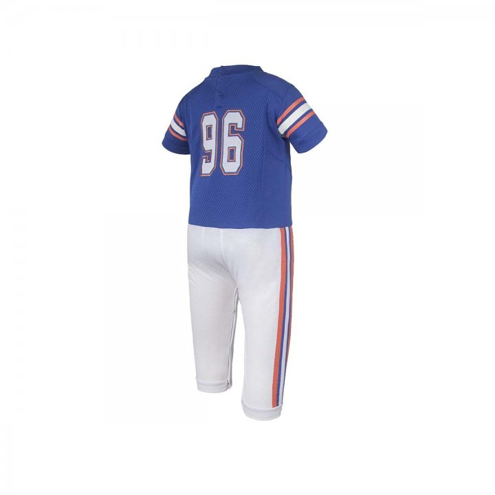 Florida Gators Infant Onesie Football Uniform Pajama (Blue)