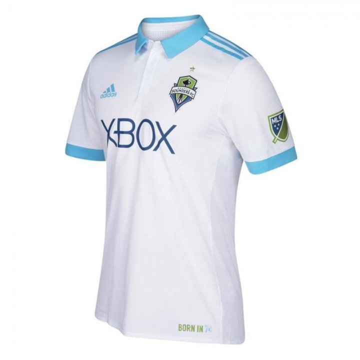 Seattle Sounders MLS Secondary Authentic Jersey (White)
