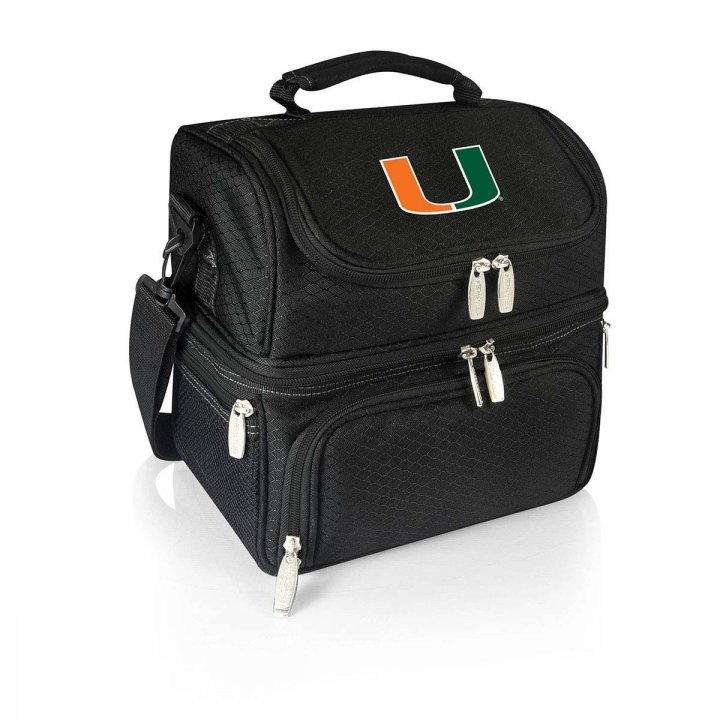 Miami Hurricanes Pranzo Lunch Tote (Black)