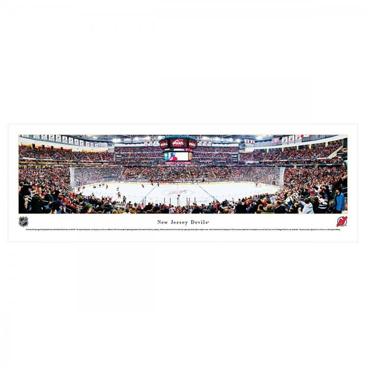 New Jersey Devils Unframed Panorama