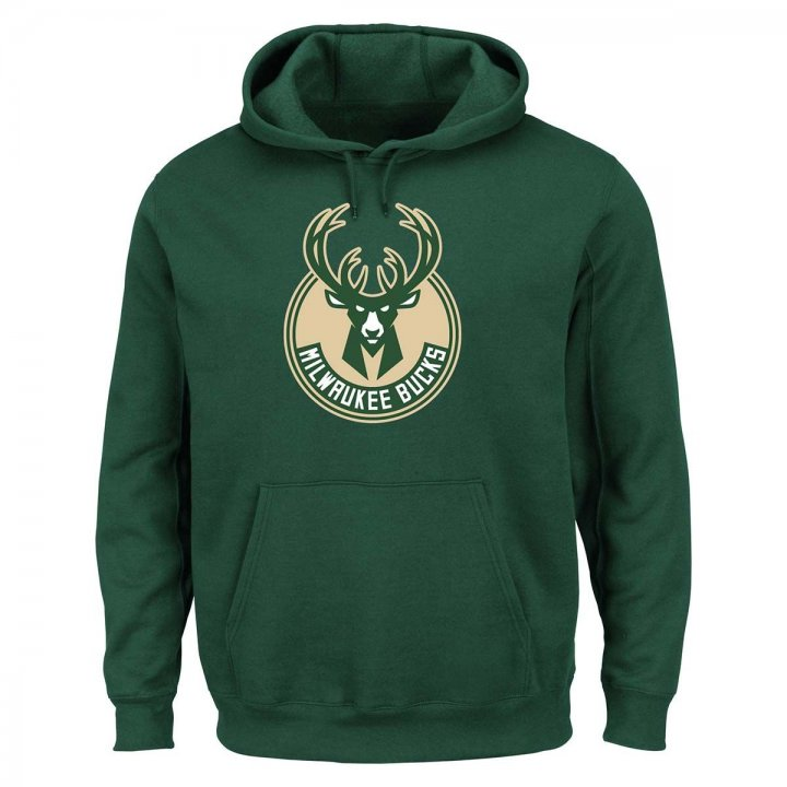 Milwaukee Bucks Tek Patch Hoodie (Green)