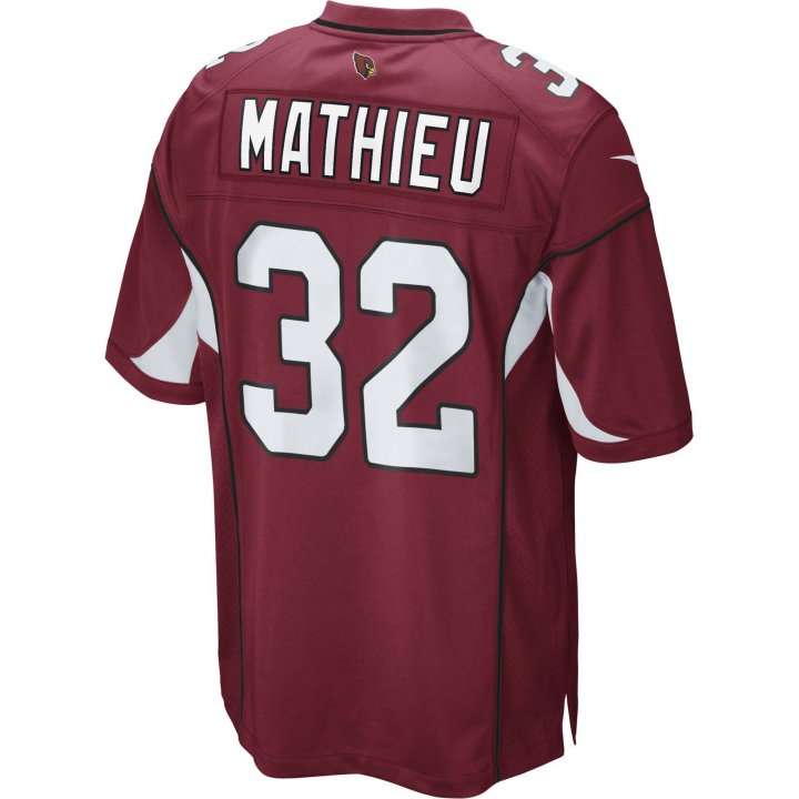 Tyrann Mathieu Arizona Cardinals Nike Game Jersey (Red)