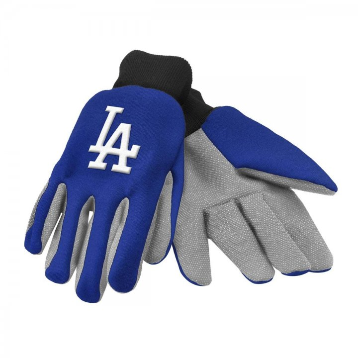 Los Angeles Dodgers Two Color Work Gloves