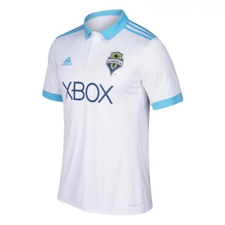 Seattle Sounders MLS Secondary Replica Jersey (White)