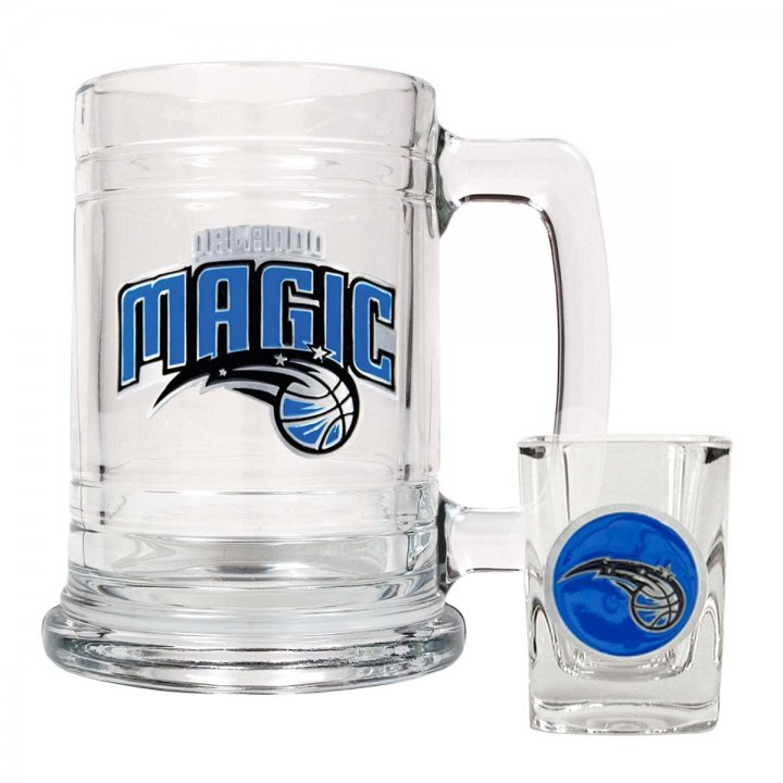 Orlando Magic NBA Boilermaker Set (Clear)