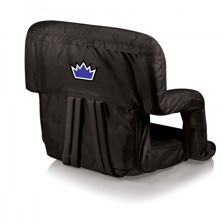 Sacramento Kings Ventura Seat Portable Recliner Chair (Black)