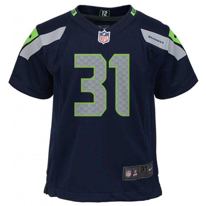 Kam Chancellor Seattle Seahawks Nike Youth Game Jersey (Navy)
