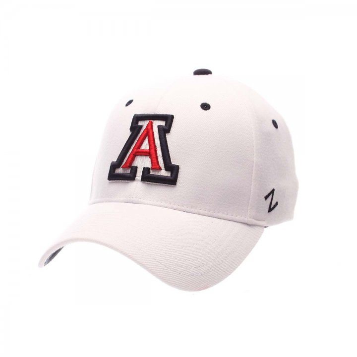 Arizona Wildcats ZH Stretch Hat (White)