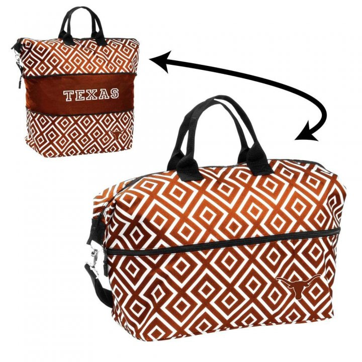 Texas Longhorns Expandable Tote