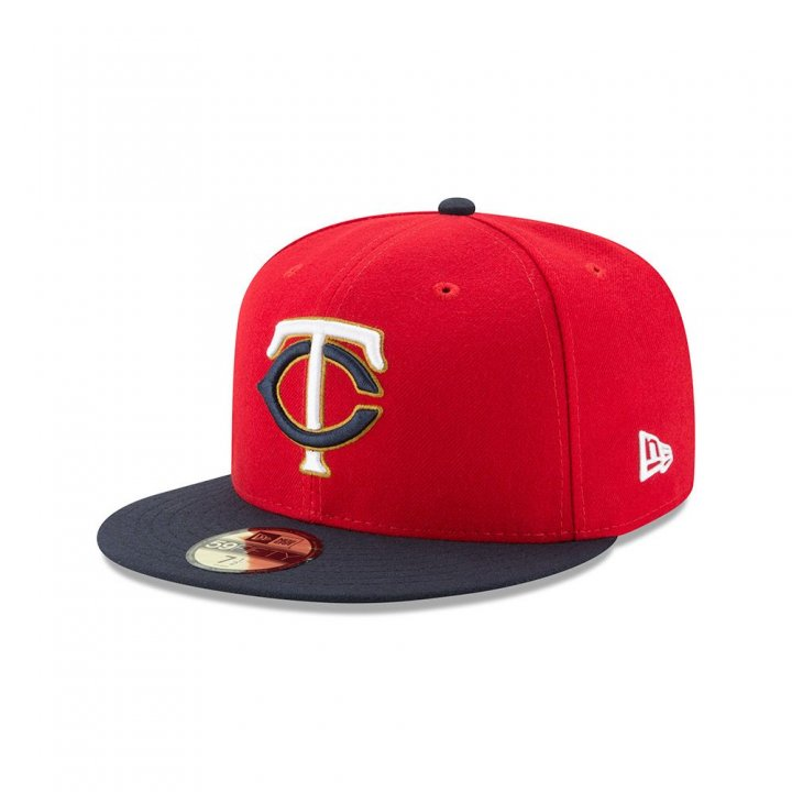Minnesota Twins Mlb Authentic Collection Alt2 5950 (Red)