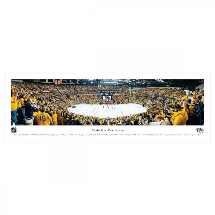 Nashville Predators Playoffs Unframed Panorama