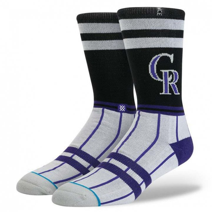 Stance Colorado Rockies Socks (Black)
