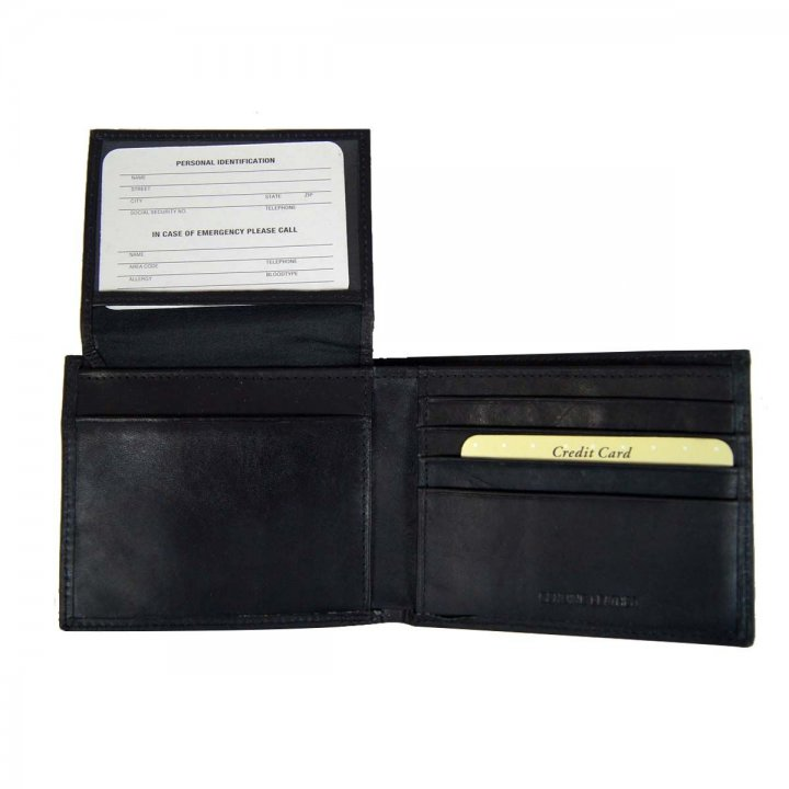 Oregon Ducks NCAA Leather Wallet (Black)