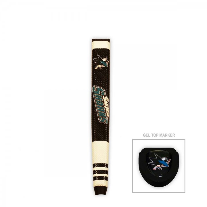 San Jose Sharks Putter Grip