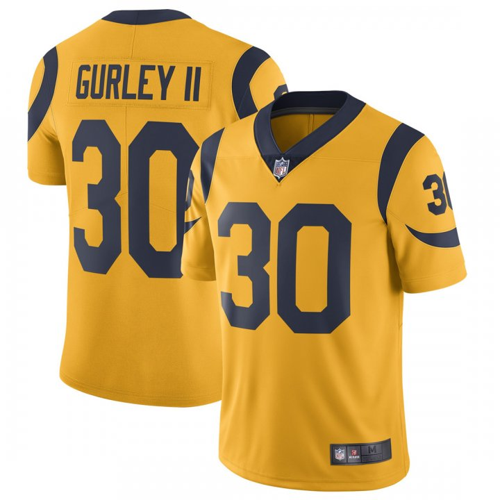 Franklin Sports Youth Kids 30 Todd Gurley II Los Angeles Rams Jersey Gold