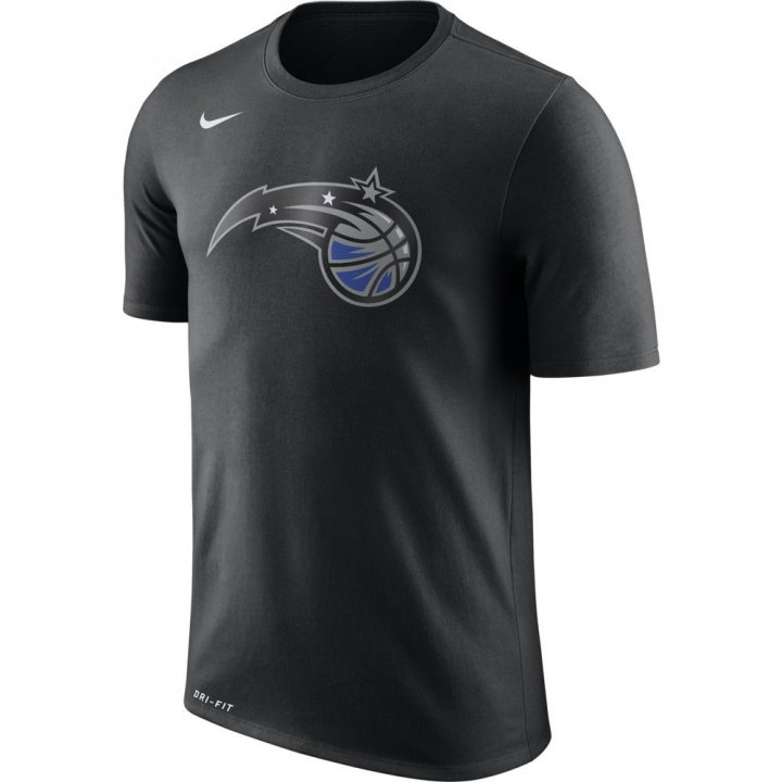 Orlando Magic NBA Nike Logo Tee (Black)
