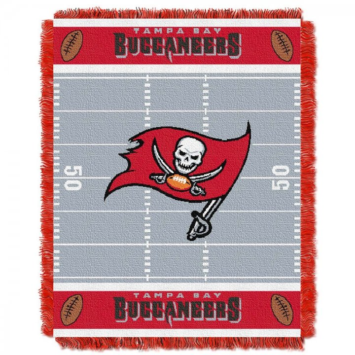 Tampa Bay Buccaneers Field Baby Throw