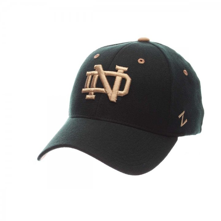 Notre Dame Fighting Irish ZH Stretch Hat (Green)