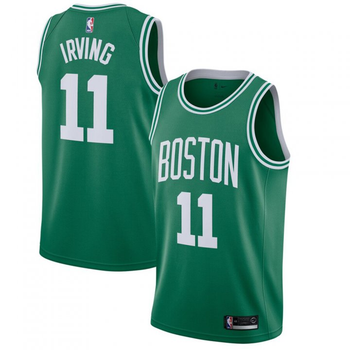 Franklin Sports Men's Kyrie Irving #11 Boston Celtics Green Icon Edition Swingman Jersey