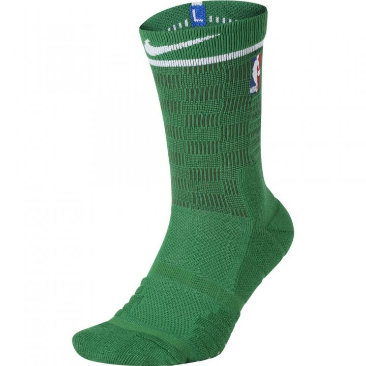 Boston Celtics NBA City Edition Elite Socks (Green)